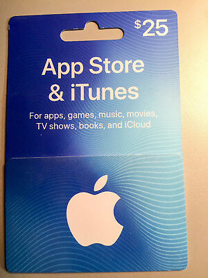 ITune Play Gift Card 25 USD