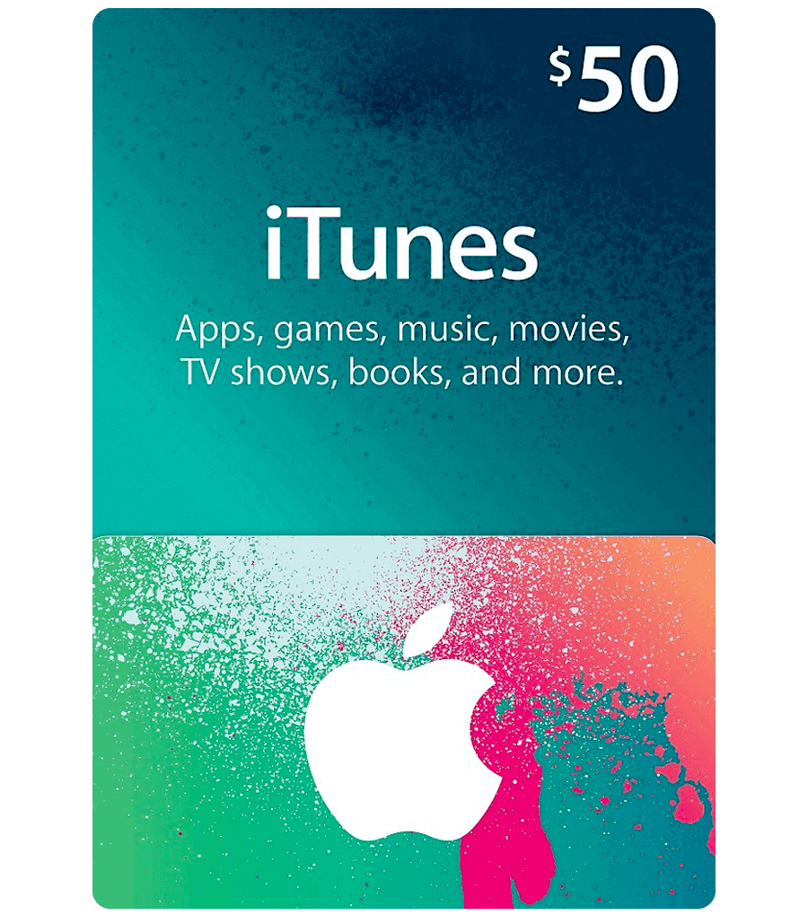ITune Play Gift card 50 USD
