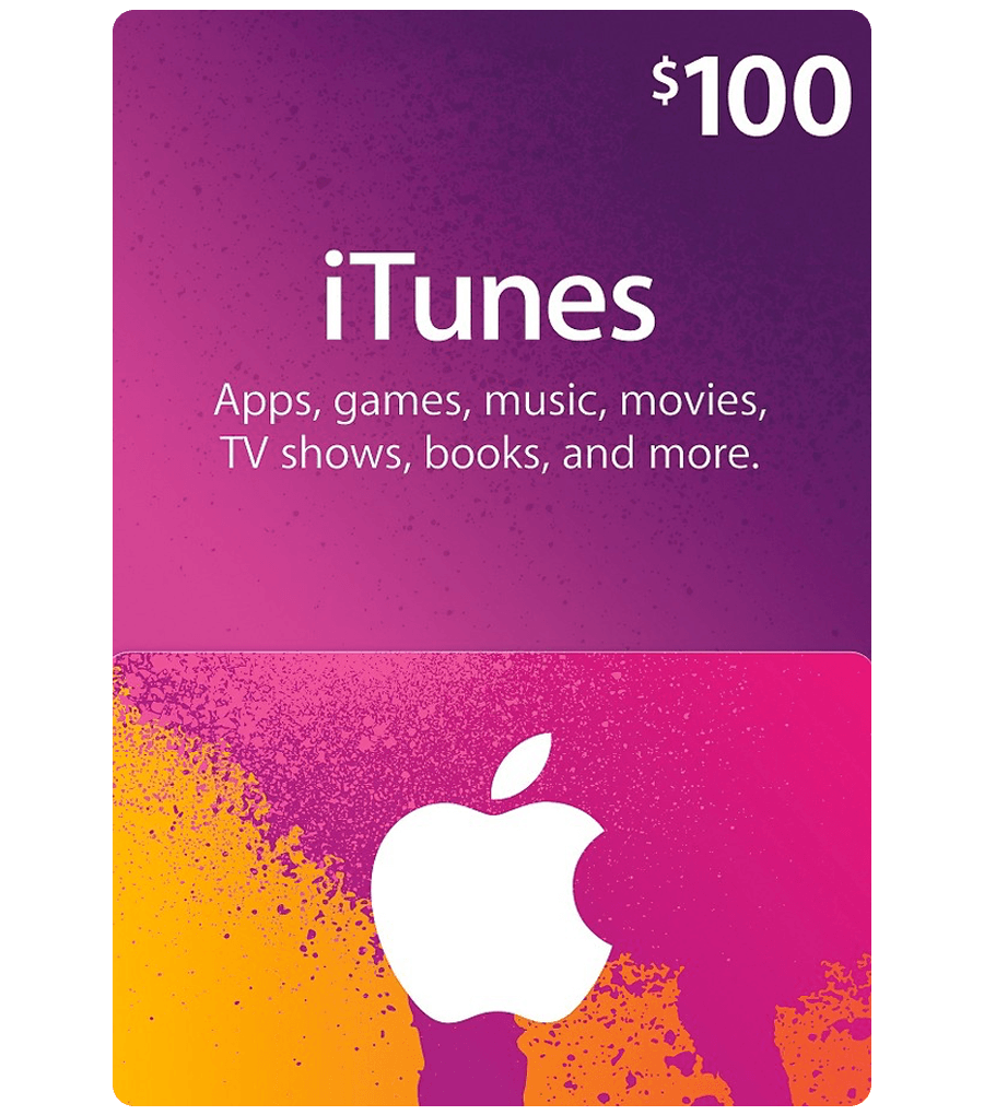 ITune Play Gift Card 100 USD